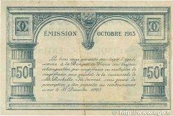 50 Centimes FRANCE régionalisme et divers La Rochelle 1915 JP.066.01 TTB