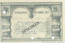 50 Centimes FRANCE régionalisme et divers LA ROCHELLE 1915 JP.066.02 pr.SPL