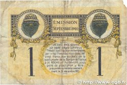 1 Franc FRANCE régionalisme et divers La Rochelle 1920 JP.066.09 TB