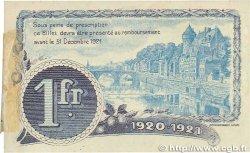 1 Franc FRANCE régionalisme et divers  1920 JP.067.02var. SUP+