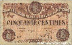 50 Centimes FRANCE régionalisme et divers Laval 1920 JP.067.03 TB