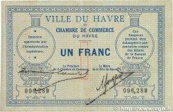 1 Franc FRANCE régionalisme et divers LE HAVRE 1914 JP.068.04 TTB