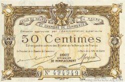 50 Centimes FRANCE régionalisme et divers Le Havre 1917 JP.068.17 SPL