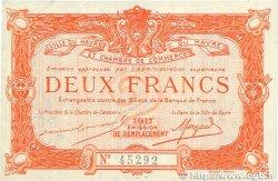 2 Francs FRANCE régionalisme et divers LE HAVRE 1917 JP.068.19 SUP