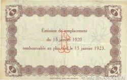 1 Franc FRANCE régionalisme et divers LE HAVRE 1920 JP.068.22 TTB