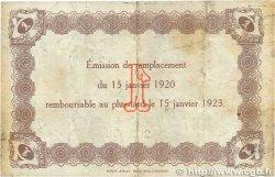 1 Franc FRANCE régionalisme et divers LE HAVRE 1920 JP.068.22 pr.TTB