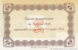 2 Francs FRANCE régionalisme et divers  1920 JP.068.24var. TTB+