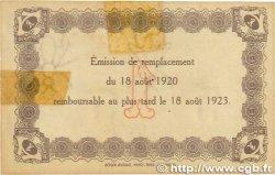 1 Franc FRANCE régionalisme et divers LE HAVRE 1920 JP.068.28 TTB+