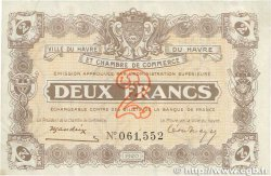 2 Francs FRANCE régionalisme et divers Le Havre 1920 JP.068.30 TTB+
