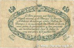 50 Centimes FRANCE régionalisme et divers LE MANS 1915 JP.069.01 pr.TTB