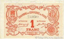 1 Franc FRANCE régionalisme et divers Le Mans 1917 JP.069.12 SPL