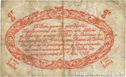 1 Franc FRANCE régionalisme et divers LE MANS 1917 JP.069.12 TB