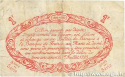 1 Franc FRANCE régionalisme et divers Le Mans 1920 JP.069.18 TTB