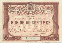 50 Centimes FRANCE régionalisme et divers LE TRÉPORT 1915 JP.071.01 SUP+