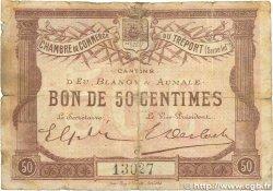 50 Centimes FRANCE régionalisme et divers LE TRÉPORT 1915 JP.071.01 B