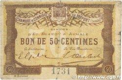50 Centimes FRANCE régionalisme et divers Le Tréport 1915 JP.071.05 TB