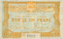 1 Franc FRANCE régionalisme et divers LE TRÉPORT 1916 JP.071.18 TTB