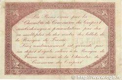 50 Centimes FRANCE régionalisme et divers LE TRÉPORT 1916 JP.071.21var. TTB