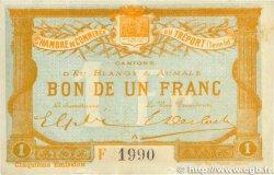 1 Franc FRANCE régionalisme et divers LE TRÉPORT 1916 JP.071.22 TTB
