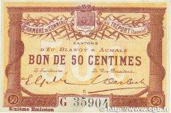50 Centimes FRANCE régionalisme et divers Le Tréport 1916 JP.071.24 SPL