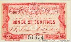 25 Centimes FRANCE régionalisme et divers LE TRÉPORT 1916 JP.071.27 SUP+