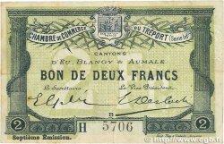2 Francs FRANCE régionalisme et divers Le Tréport 1916 JP.071.30 TTB