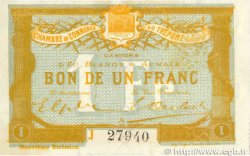 1 Franc FRANCE régionalisme et divers Le Tréport 1917 JP.071.37 SUP