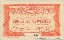 25 Centimes FRANCE régionalisme et divers LE TRÉPORT 1918 JP.071.39 SUP+