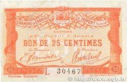 25 Centimes FRANCE régionalisme et divers Le Tréport 1920 JP.071.40 SUP+