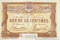 50 Centimes FRANCE régionalisme et divers Le Tréport 1918 JP.071.42 SUP