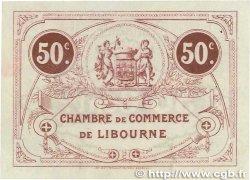 50 Centimes FRANCE régionalisme et divers  1915 JP.072.02var. pr.SPL