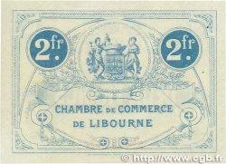 2 Francs FRANCE régionalisme et divers LIBOURNE 1915 JP.072.10var. SUP+