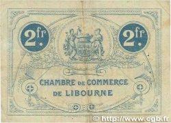 2 Francs FRANCE régionalisme et divers Libourne 1915 JP.072.14 TB