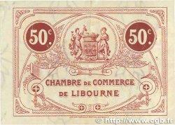50 Centimes FRANCE régionalisme et divers LIBOURNE 1917 JP.072.18 TTB+