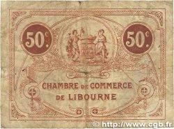 50 Centimes FRANCE régionalisme et divers LIBOURNE 1920 JP.072.29 TB