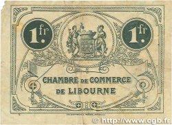 1 Franc FRANCE régionalisme et divers LIBOURNE 1920 JP.072.33 TB
