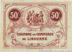 50 Centimes FRANCE régionalisme et divers Libourne 1921 JP.072.35 TTB