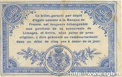 50 Centimes FRANCE régionalisme et divers Limoges 1914 JP.073.01 TTB+