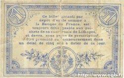 1 Franc FRANCE régionalisme et divers Limoges 1914 JP.073.03 pr.TTB