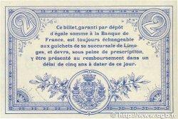 2 Francs FRANCE régionalisme et divers Limoges 1914 JP.073.06 pr.SPL