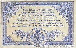 50 Centimes FRANCE régionalisme et divers  1914 JP.073.08var. TTB
