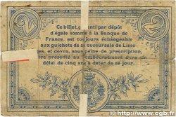 2 Francs FRANCE régionalisme et divers LIMOGES 1914 JP.073.12 B