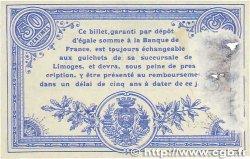 50 Centimes FRANCE régionalisme et divers LIMOGES 1914 JP.073.14 TB