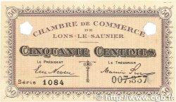 50 Centimes FRANCE régionalisme et divers  1918 JP.074.01var. pr.SPL