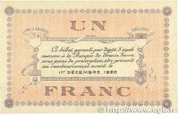 1 Franc FRANCE régionalisme et divers  1918 JP.074.05var. TTB+