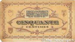 50 Centimes FRANCE régionalisme et divers LONS-LE-SAUNIER 1918 JP.074.16 TTB