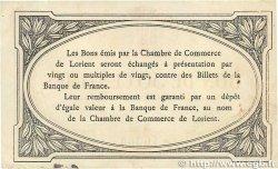 50 Centimes FRANCE régionalisme et divers Lorient 1915 JP.075.01 TTB+