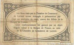 1 Franc FRANCE régionalisme et divers LORIENT 1915 JP.075.02 TTB