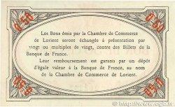 50 Centimes FRANCE régionalisme et divers Lorient 1915 JP.075.04 SUP