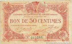 50 Centimes FRANCE régionalisme et divers Lorient 1915 JP.075.04 pr.TTB